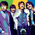 Pop art bilde av The Beatles